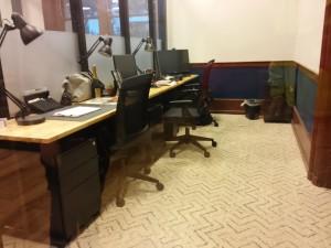دفتر کار سه نفره