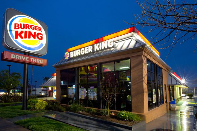 بوم مدل کسب و کار Burger King