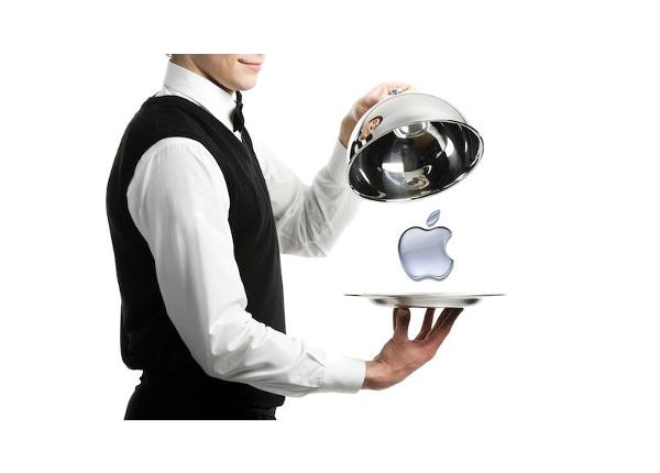 بازی رستوران در بازاریابی: اپل و تیم کوک