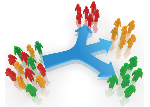 پارامترهایی که باید مشتریان را بر اساس آنها دسته بندی کنید