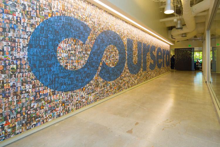بوم مدل کسب و کار Coursera